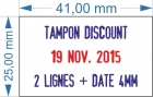 Tampon typomatic Trodat 4755 dateur