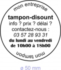 Tampon encreur Colop Printer R 50